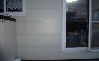 外壁一部補修